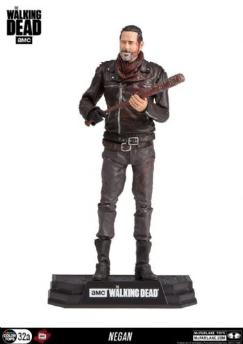 "McFarlane Toys Walking Dead Exclusive Bloody Negan 7"" Colour Tops"
